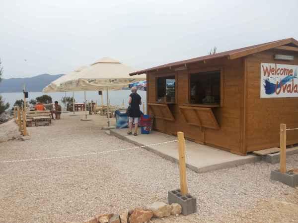 Beach bar Uvala