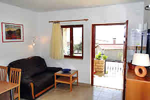 wohnzimmer Apartment Tedo